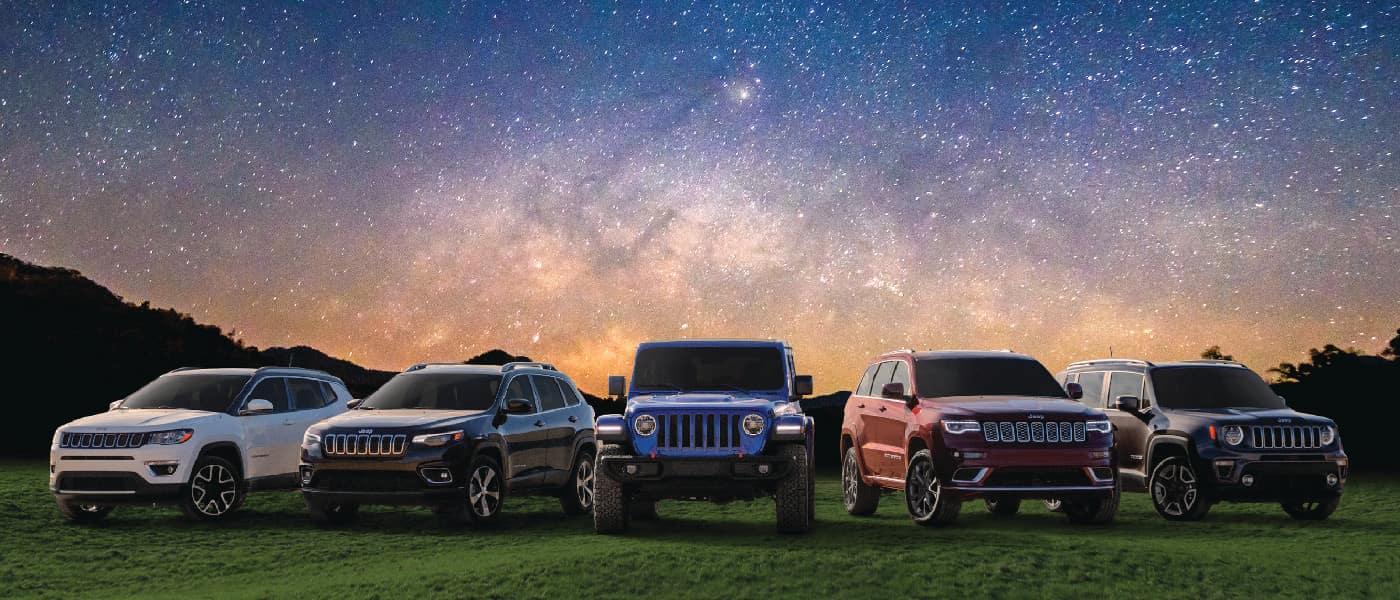 2019 Jeep lineup