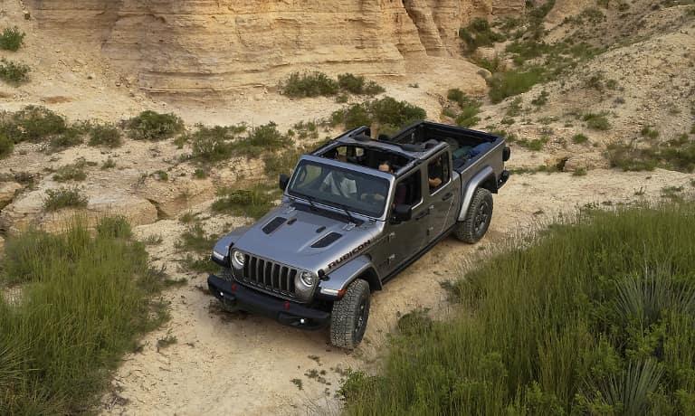 Grey 2020 Jeep Gladiator exterior