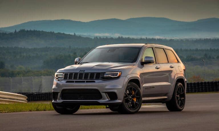 Silver 2019 Jeep Grand Cherokee exterior