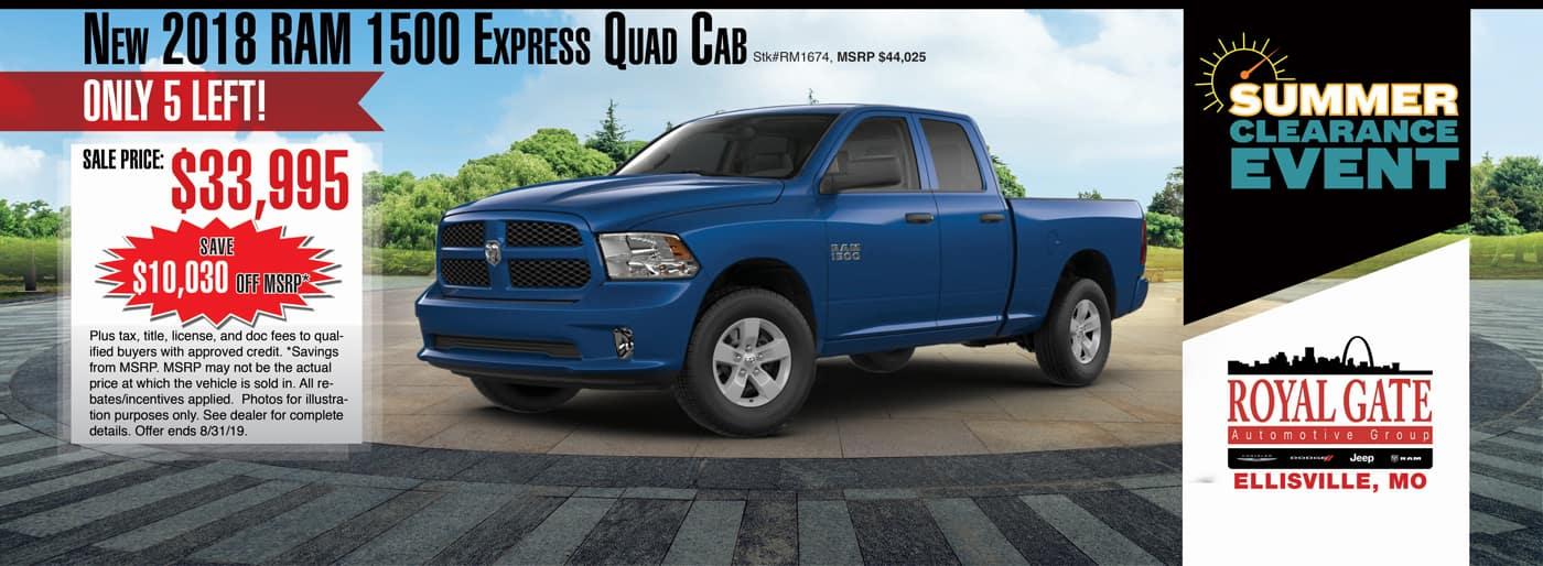 2018 1500 express