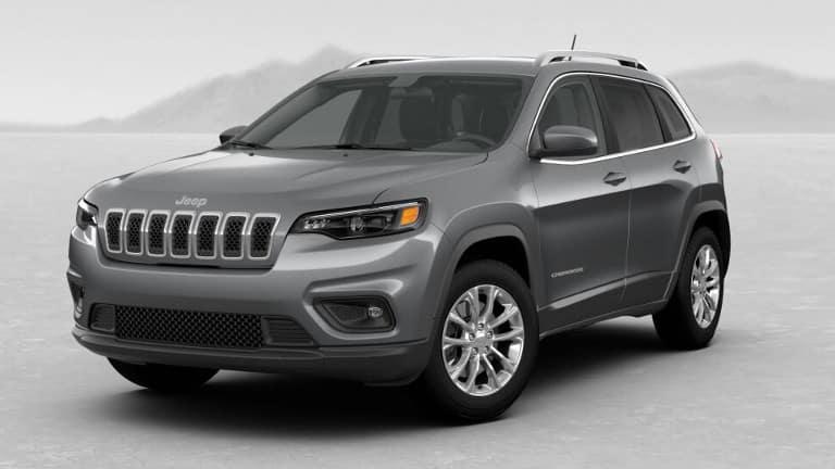 Grey 2019 Jeep Cherokee Latitude