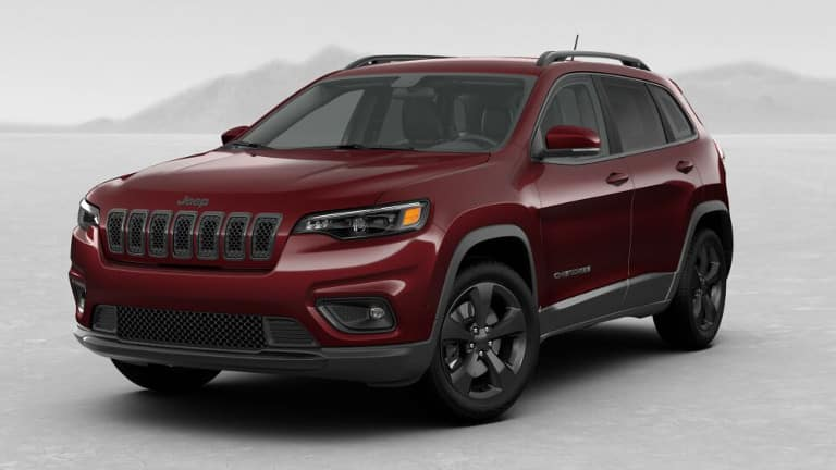 Red 2019 Jeep Grand Cherokee Altitude