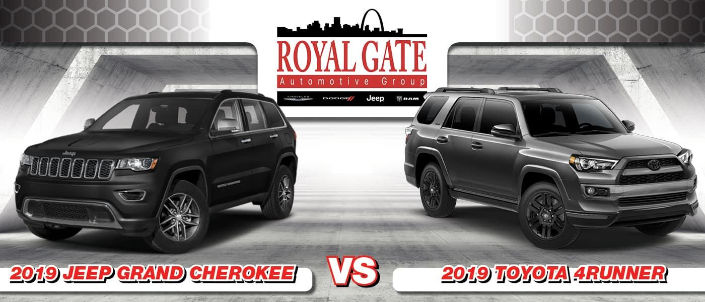 2019 Jeep Grand Cherokee vs. Toyota 4Runner