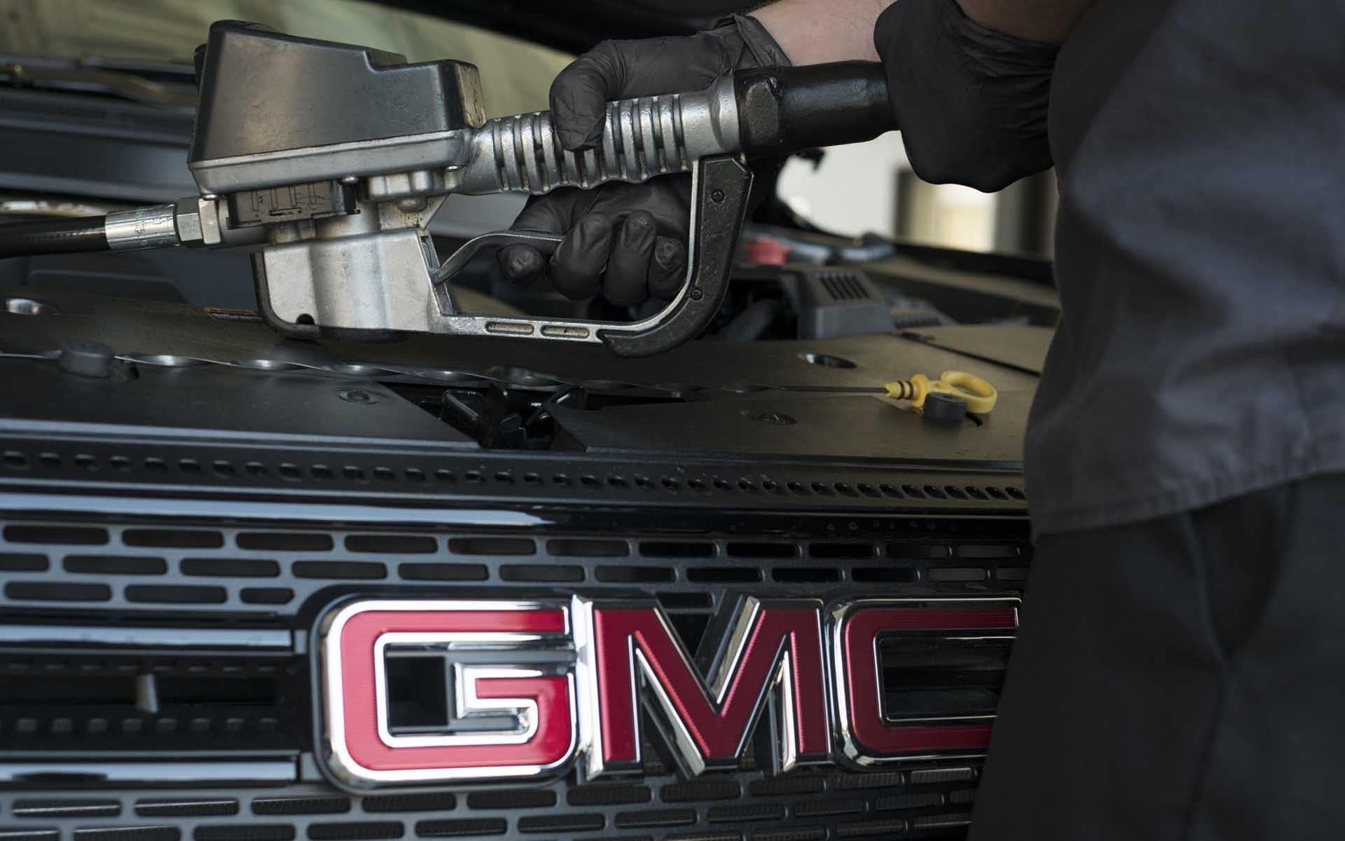 2021 GMC Canyon Oil Change