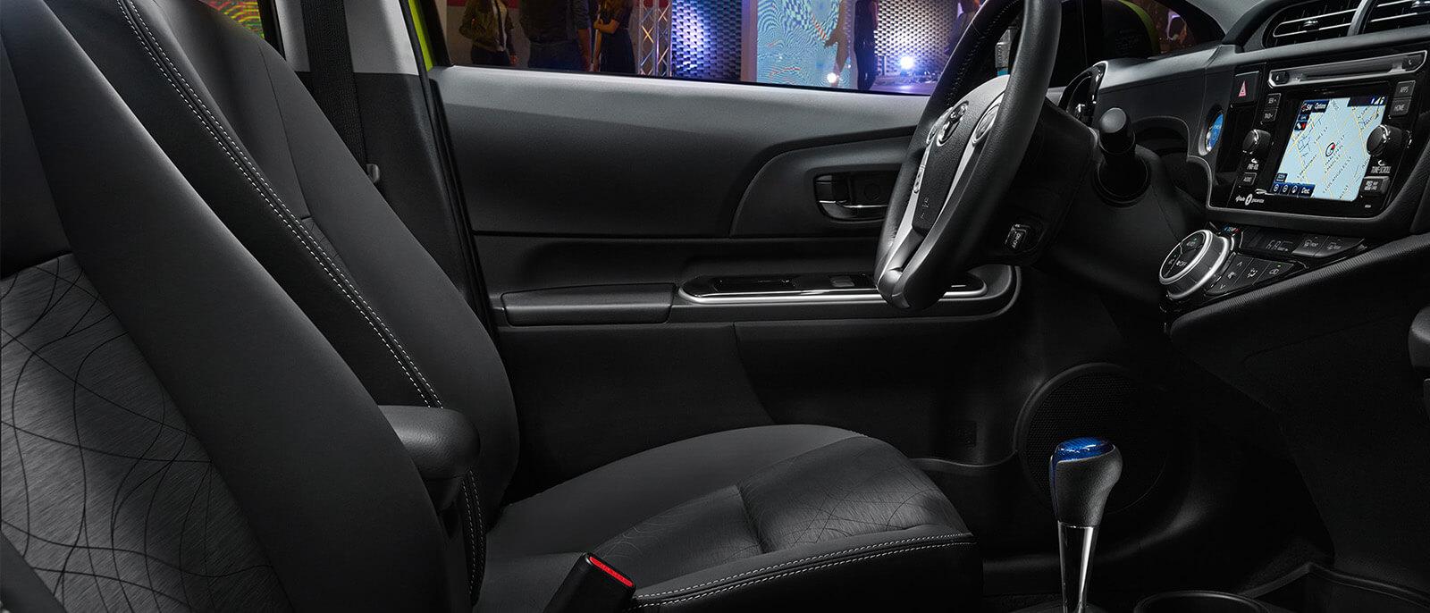 2016 Toyota Prius c Interior