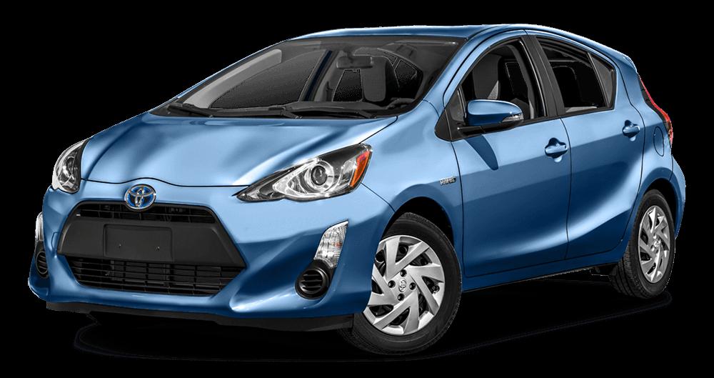 2016 Toyota Prius c Blue