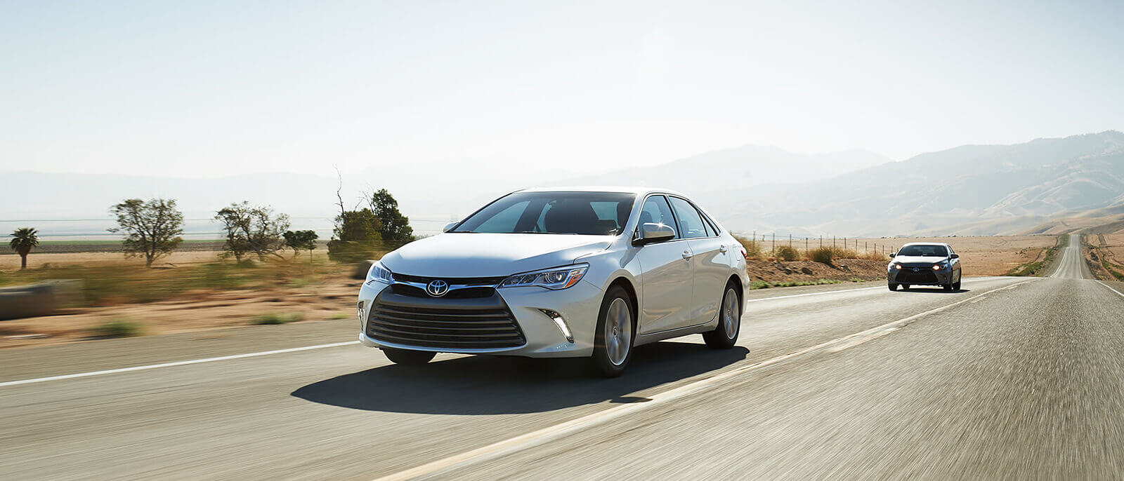 2017 Toyota Camry Driving