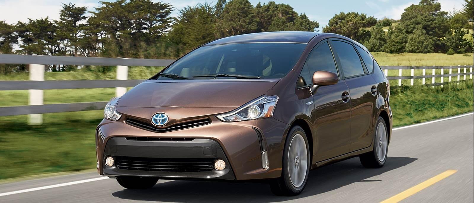 2017 Toyota Prius v Driving
