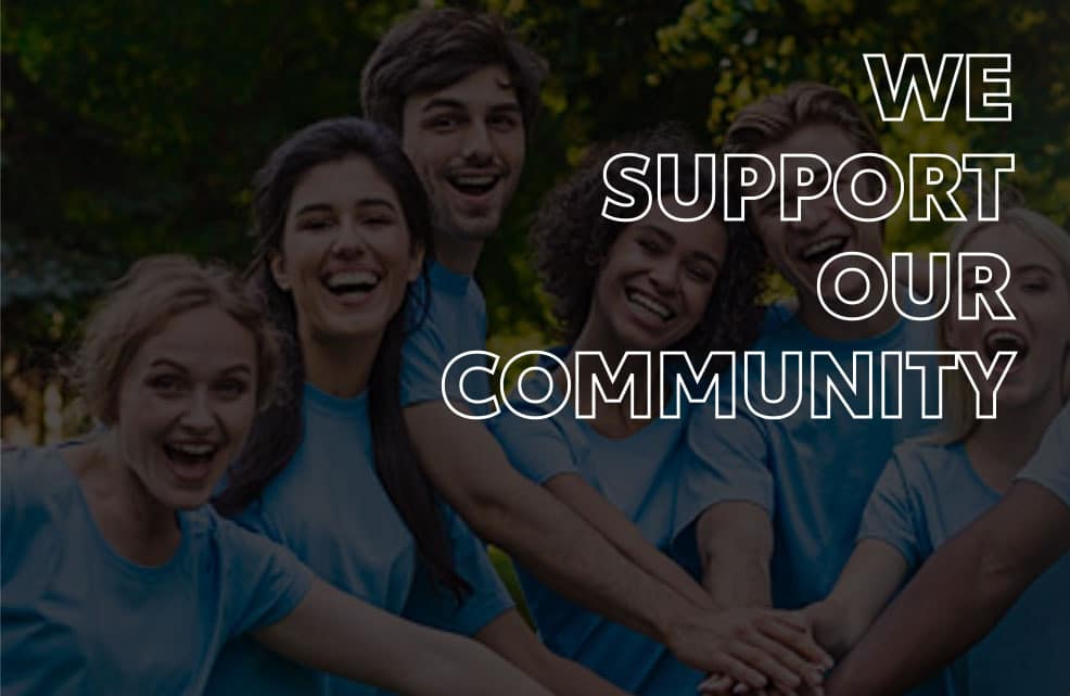 We support out community