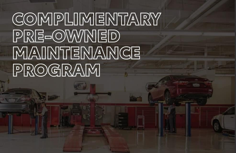 Complimentary Pre-Owned Maintenace Program