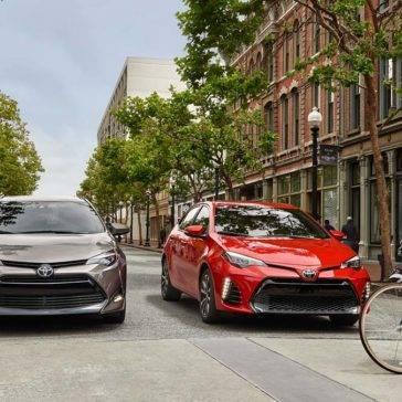 Toyota-Corollas-On-City-Street