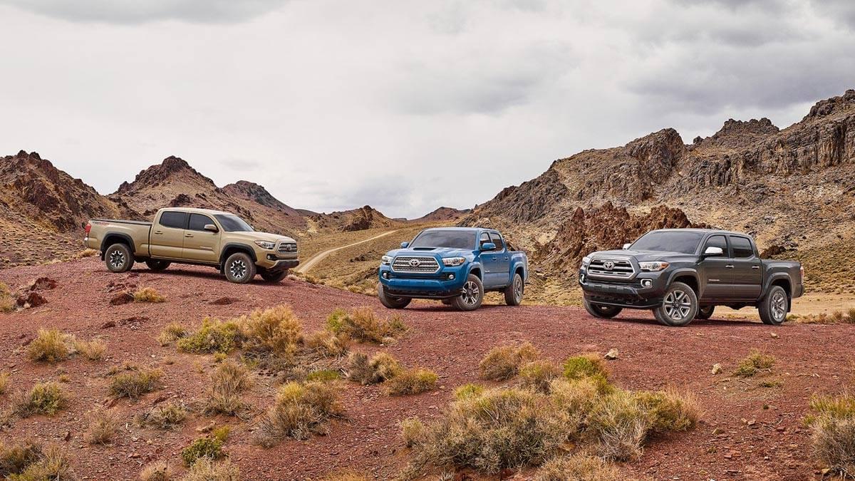2017 Toyota Tacoma Double Cab Lineup