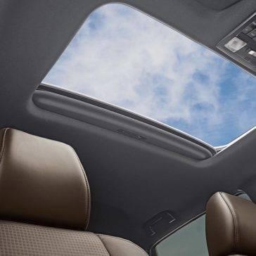 2017 Toyota Tacoma Limited Double Cab Interior Moonroof