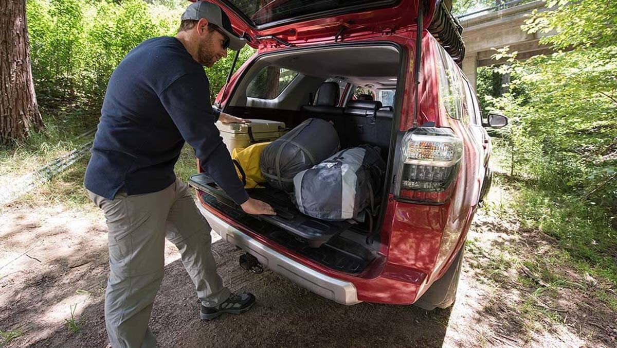 2017 Toyota 4Runner available cargo space