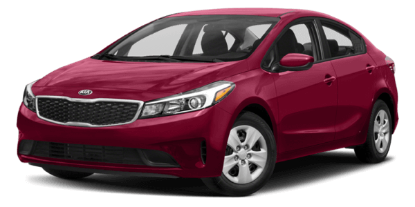 2017 Kia Forte white background