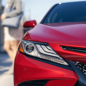 2018 Toyota Camry front exterior up close