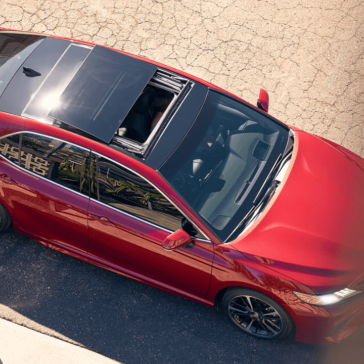 2018 Toyota Camry view of the roof