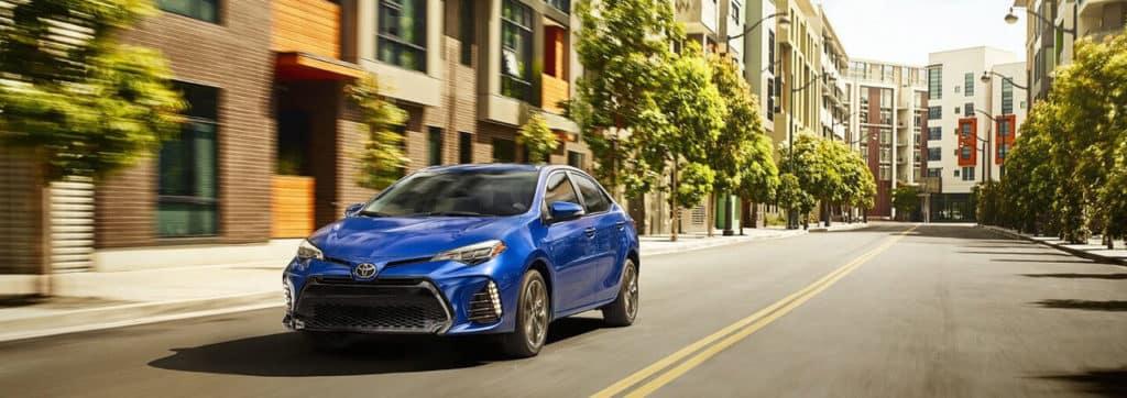 2018 Toyota corolla banner