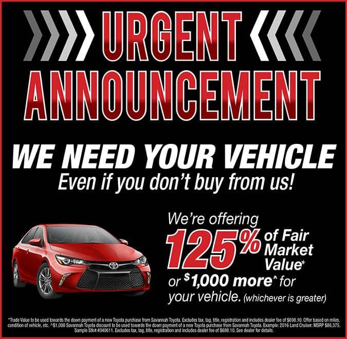 Urgent Annoucement