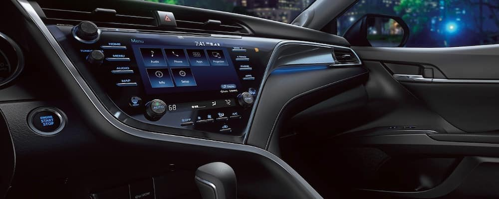 2019 Toyota Camry Interior with Entune Touchscreen