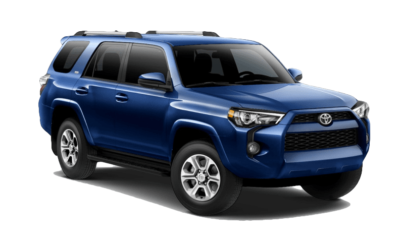 2019 Toyota 4Runner Nautical Blue Metallic Exterior