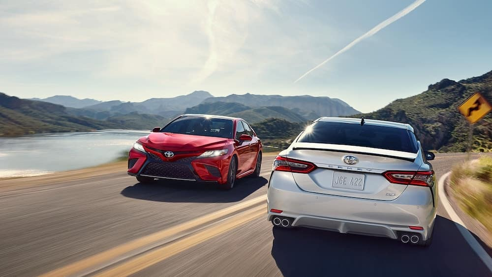 2019 Toyota Camry Models Comp