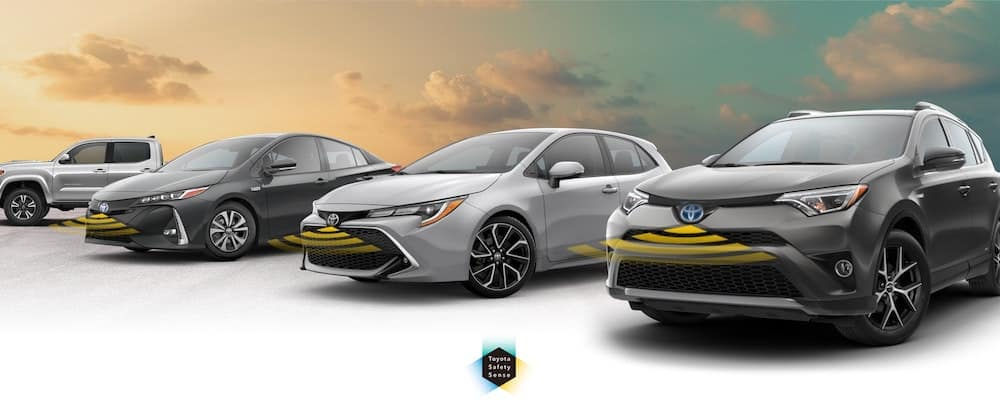 Toyota Safety Sense models