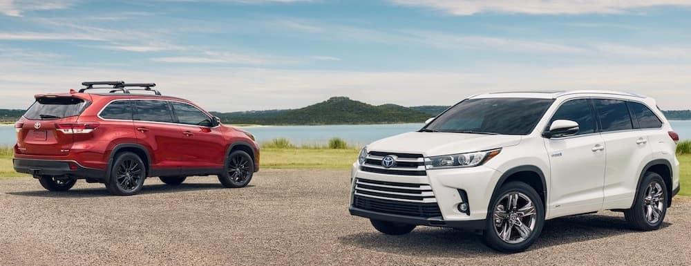 2019 Toyota Highlander models