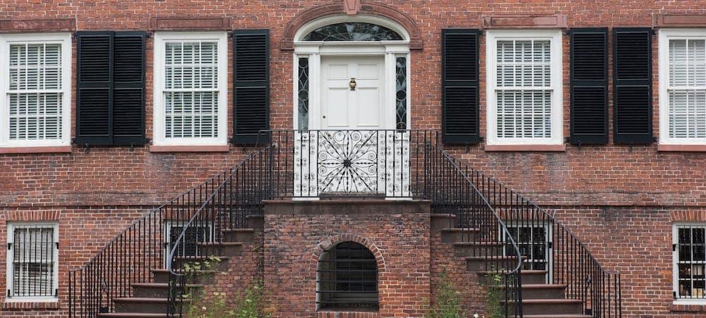 Davenport House exterior view