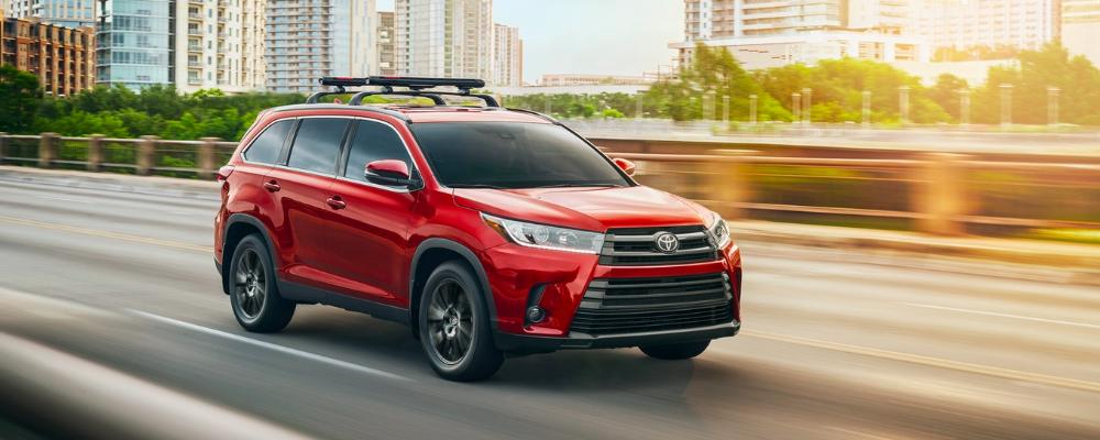 2019 Toyota Highlander Configurations