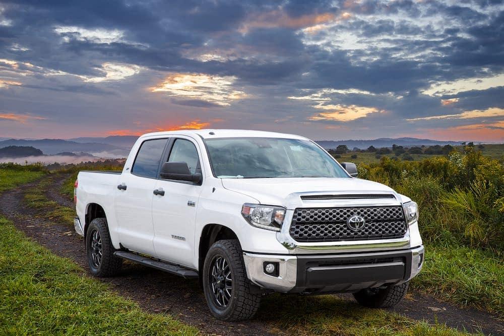 Toyota Tundra XP Gunner in a field