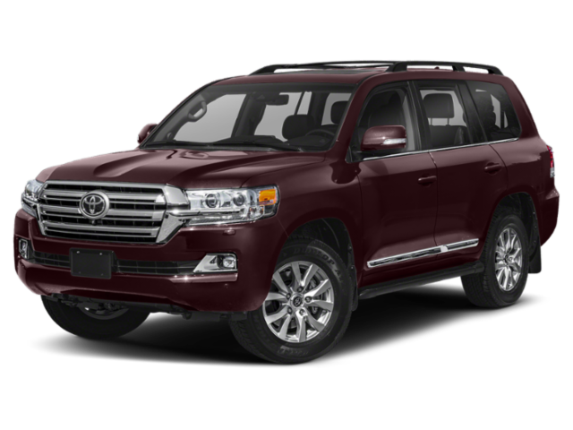 2019 Toyota Land Cruiser in burgandy