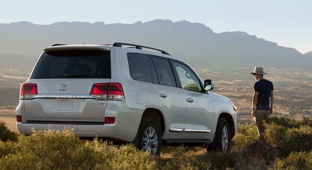 2019 Toyota Land Cruiser off-roading small