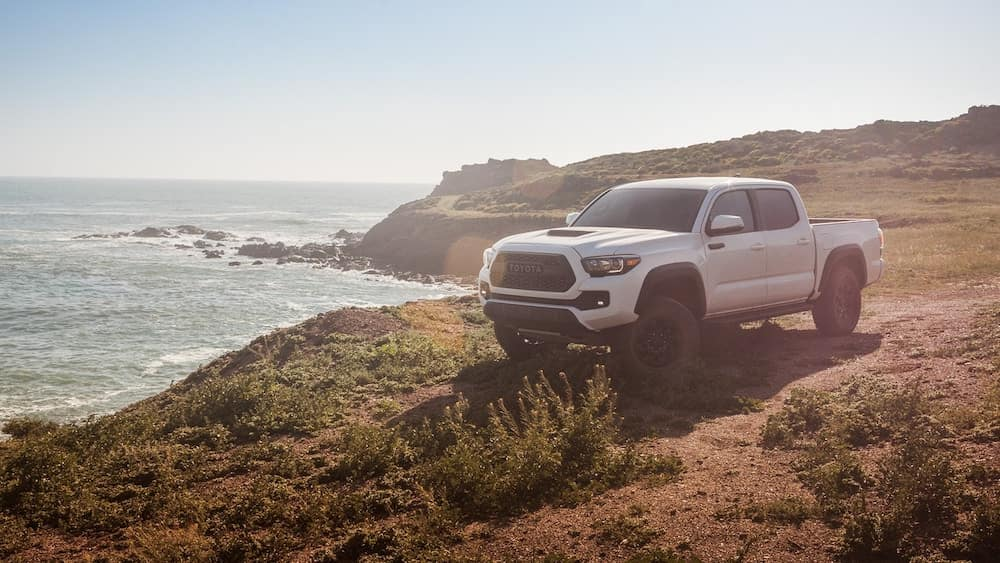 2019 Toyota Tacoma TRD Pro by the beach