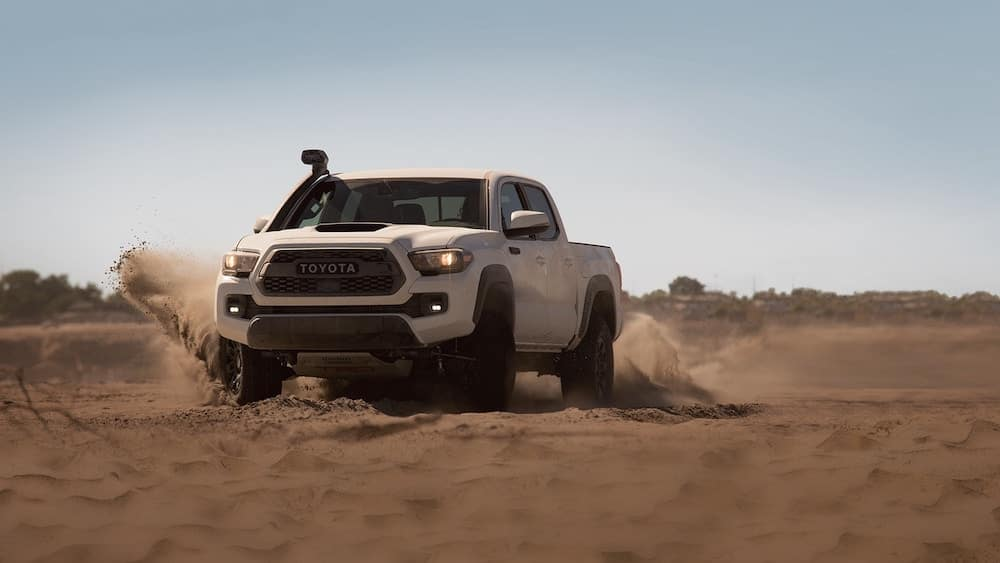 2019 Toyota Tacoma in the sand
