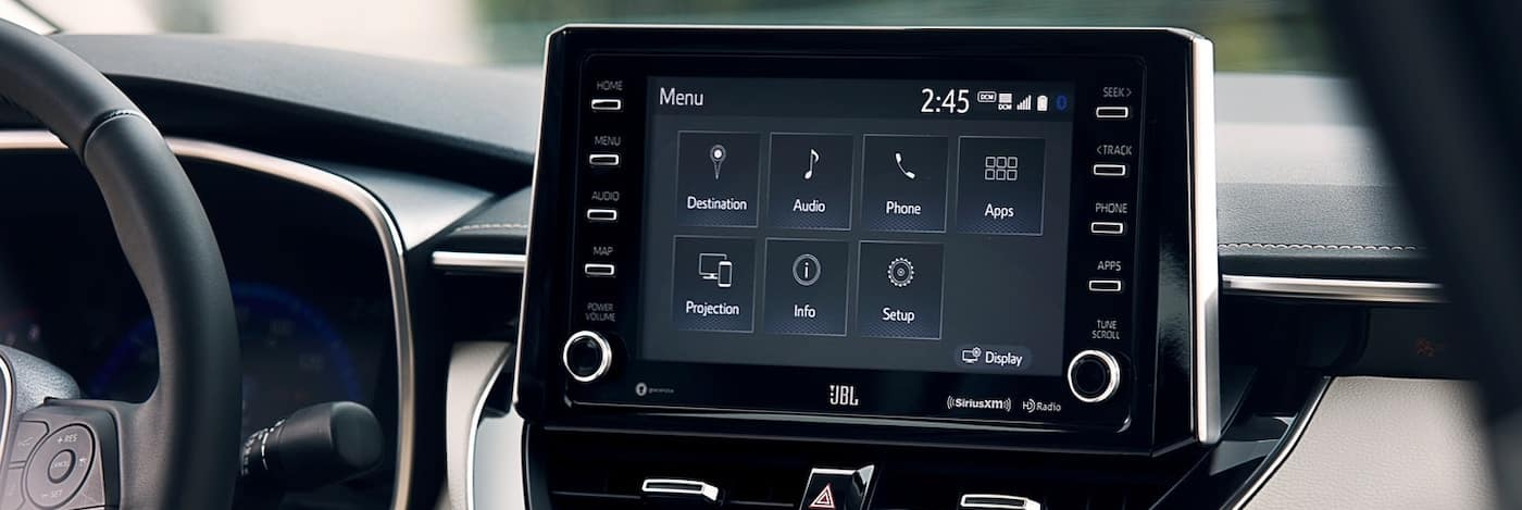 2020 Toyota Corolla Entune system