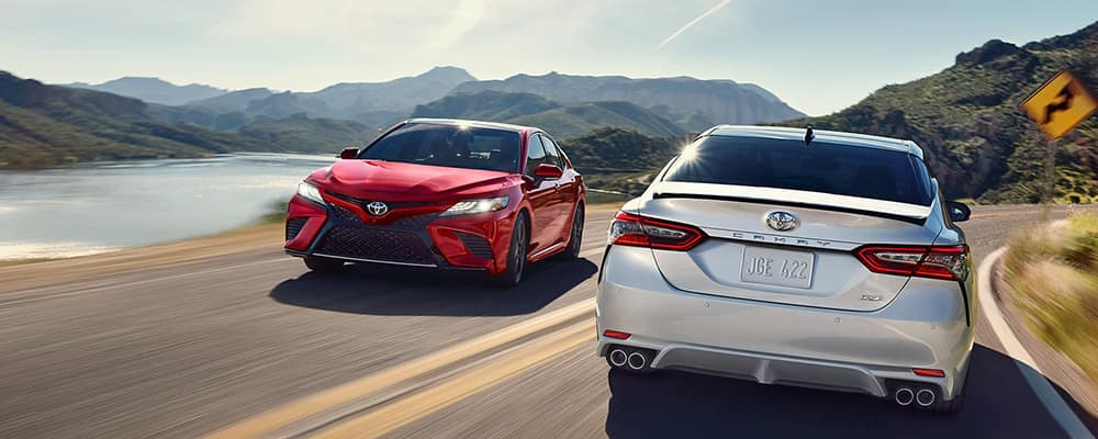 2019 Toyota Camry colors