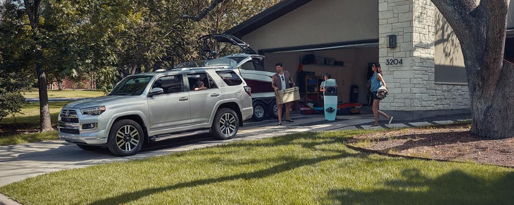 2020 Toyota 4Runner parked in driveway
