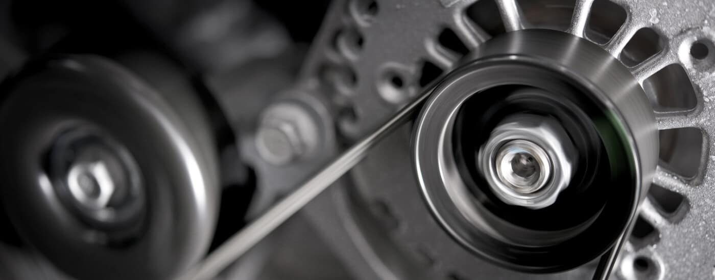 alternator close up