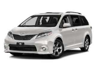 New 2017 Toyota Sienna LE 8-Passenger FWD