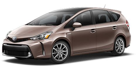 New 2017 Toyota Prius v Two​ Liftback