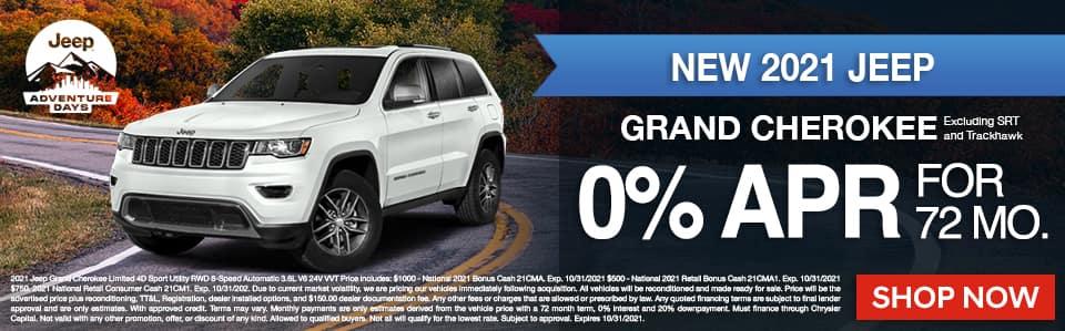 New Grand Cherokee