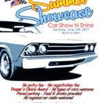 Nebraska Car Show Flyer