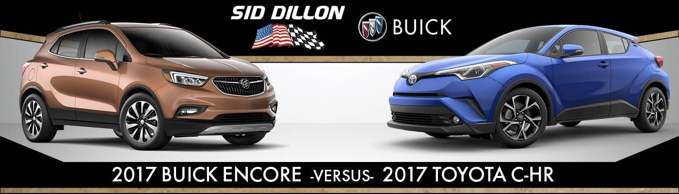 2017 buick encore vs 2018 toyota c-hr