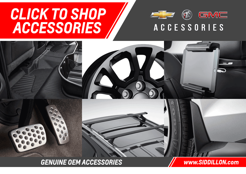 Sid Dillon GM accessories