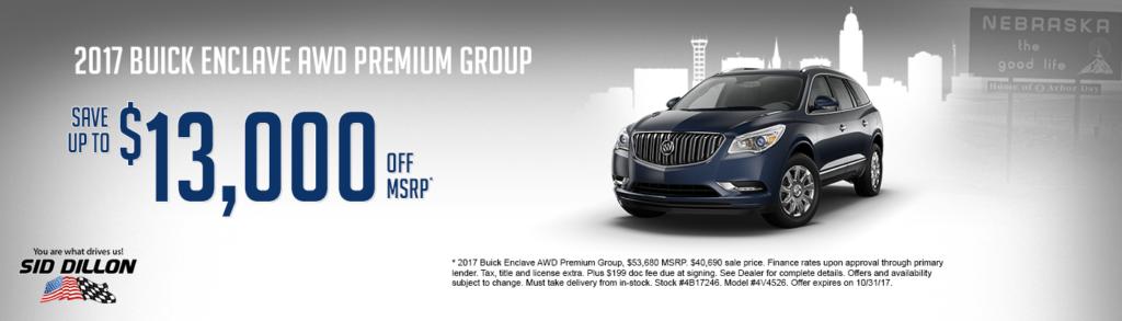 2017 Buick Enclave AWD Premium Group