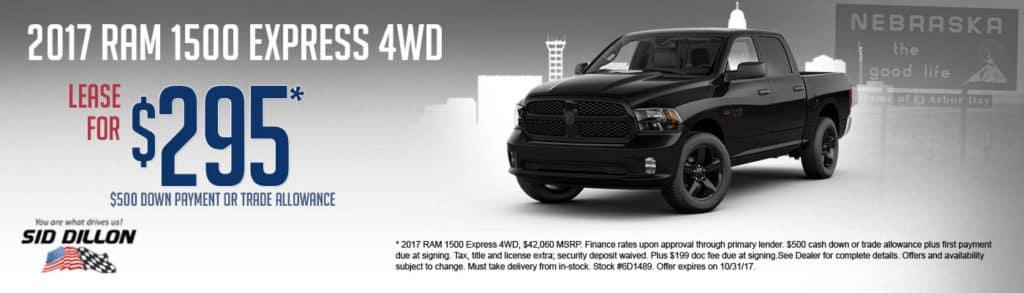 2017 RAM 1500 Express 4WD
