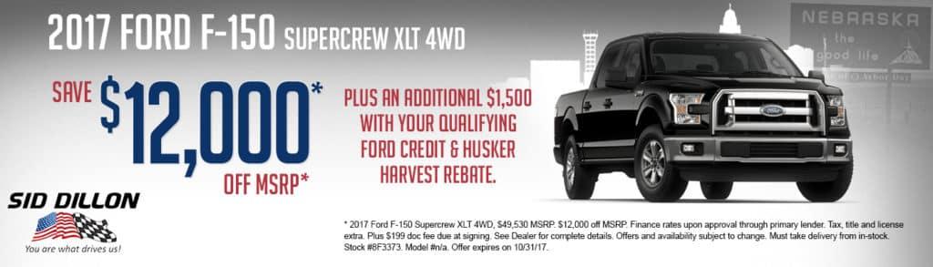 2017 Ford F-150 Supercrew XLT 4WD