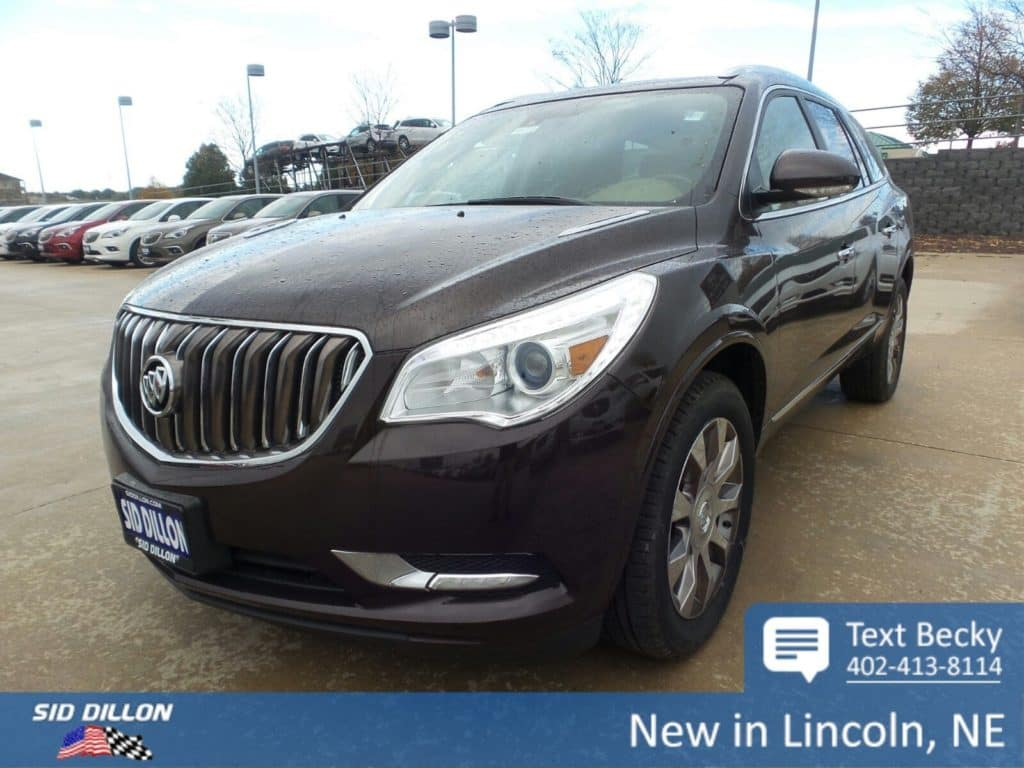 2017 Buick Enclave Premium with the Tuscan Edition