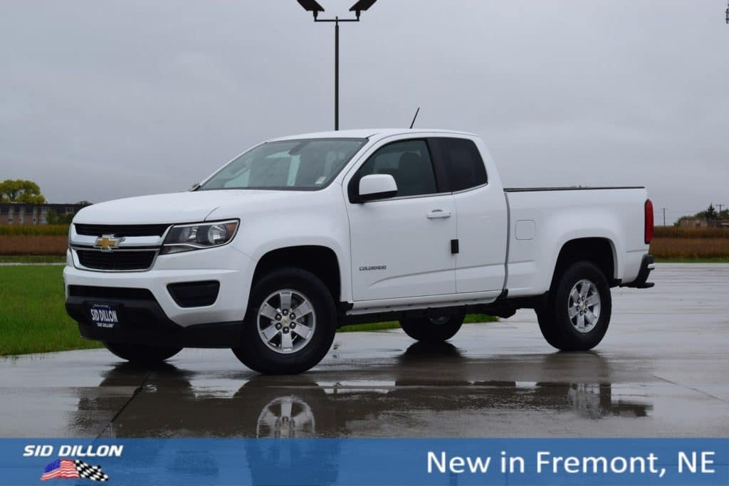 2018 Chevrolet Colorado 2WD WT RWD Extended Cab